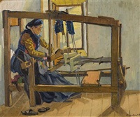 the weaver by agenor asteriadis