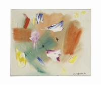 foreboding of spring by hans hofmann