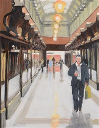 queen's arcade belfast by david mcelhinney