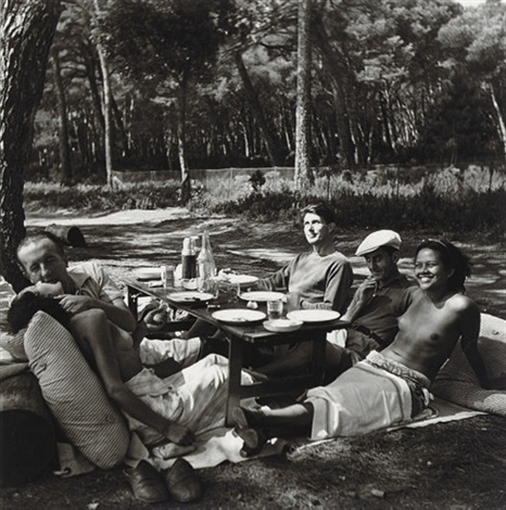 picnic mougins by lee miller