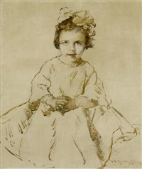 mary content by william merritt chase