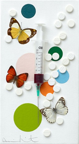 fun 樂趣 by damien hirst