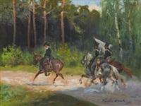patrol by woiciech (aldabert) ritter von kossak