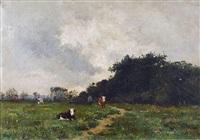 le repos des vaches by henri linguet