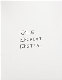lie cheat and steal by jack pierson