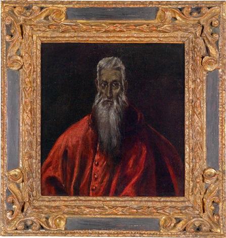der hl hieronymus als kardinal by el greco
