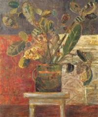 kwiaty w wazonie by artur nacht-samborski