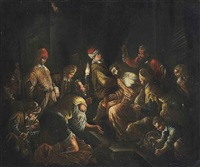 the mocking of christ by jacopo and francesco bassano