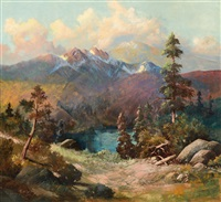 rocky mountains by charles partridge adams