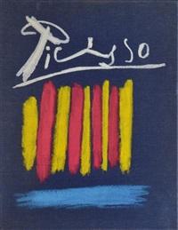 les bleus de barcelone by pablo picasso