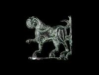 lion jazira plaque by anonymous-islamic