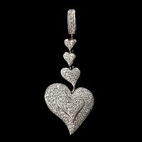 heart pendant by john atencio