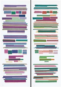 orizzontale - verticale (portfolio of 2) by aoi huber kono