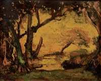 crépuscule by armand guillaumin
