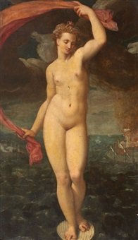 venus by friedrich sustris