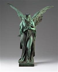 schreitender engel by raimund liebhaber
