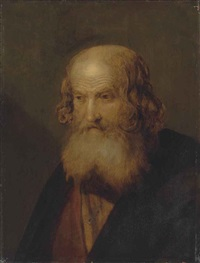 head of an apostle by jan lievens