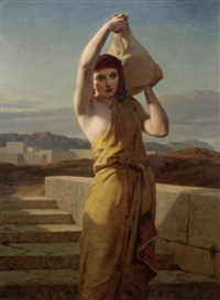 the water carrier by frederick goodall