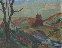 le pont by armand guillaumin