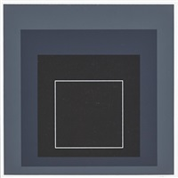white line square by josef albers