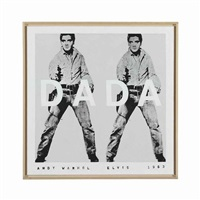 andy warhol, 'elvis', 1963, dada, #2 by richard pettibone