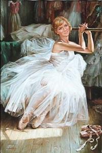 a ballet girl by alexander akopov