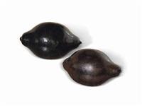 zwei schwarze zitronen (in 2 parts) by thomas schütte