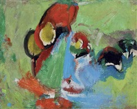 untitled no. 20 by hans hofmann