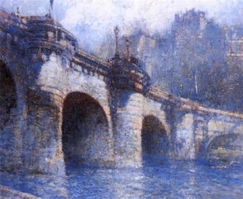 pont neuf paris by george wharton edwards