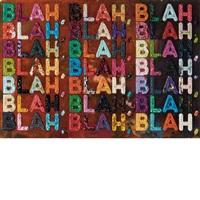 blah blah blah by mel bochner