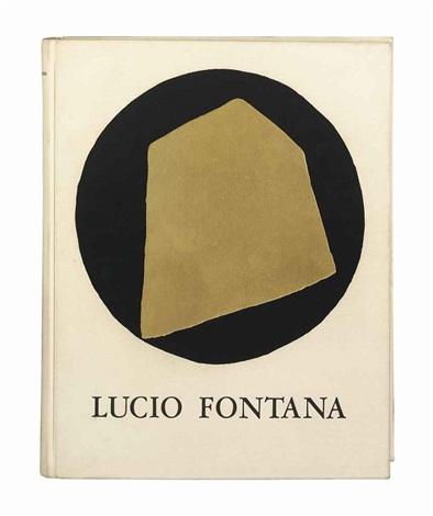 lépée dans leau lucio fontana dix eauxfortes bk w10 works by lucio fontana