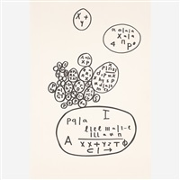 da série cálculos by mira schendel
