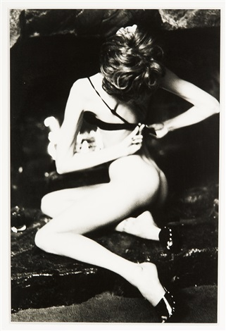 stephanie seymour santa barbara by ellen von unwerth