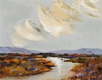 reflections on bog stream by thelma mansfield