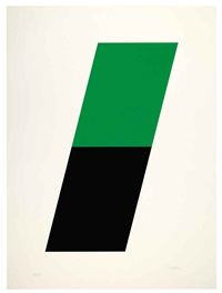 green/black by ellsworth kelly