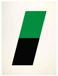 green/black by ellsworth kelly