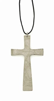 silver cross by rodney graham