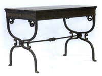 library table by morgan colt