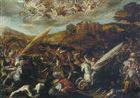 saint james vanquishing the saracens at the battle of clavijo by hispano-flemish school (17)