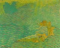 composition en vert by stella mertens