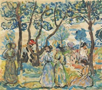 june day by maurice brazil prendergast