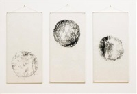 untitled (3 works) by mira schendel