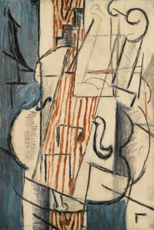 violon by georges braque