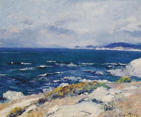 carmel coast by guy rose
