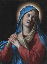 the madonna at prayer by alessandro tiarini