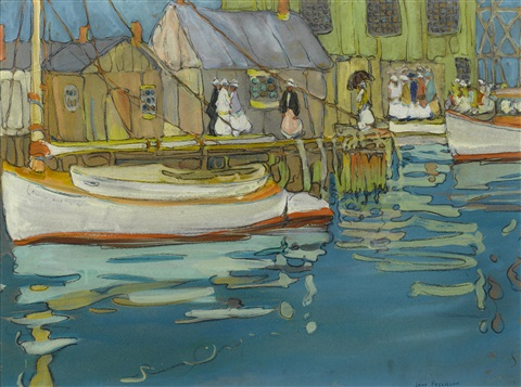 the boat landing by jane peterson