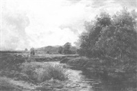 a quiet river by edward h. davies