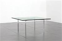 tavolino barcelona by ludwig mies van der rohe