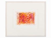 red one (meta-harmonie en orange) by jean tinguely