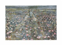 laßt tausend blumen blühen! (let a thousand flowers bloom) by anselm kiefer
